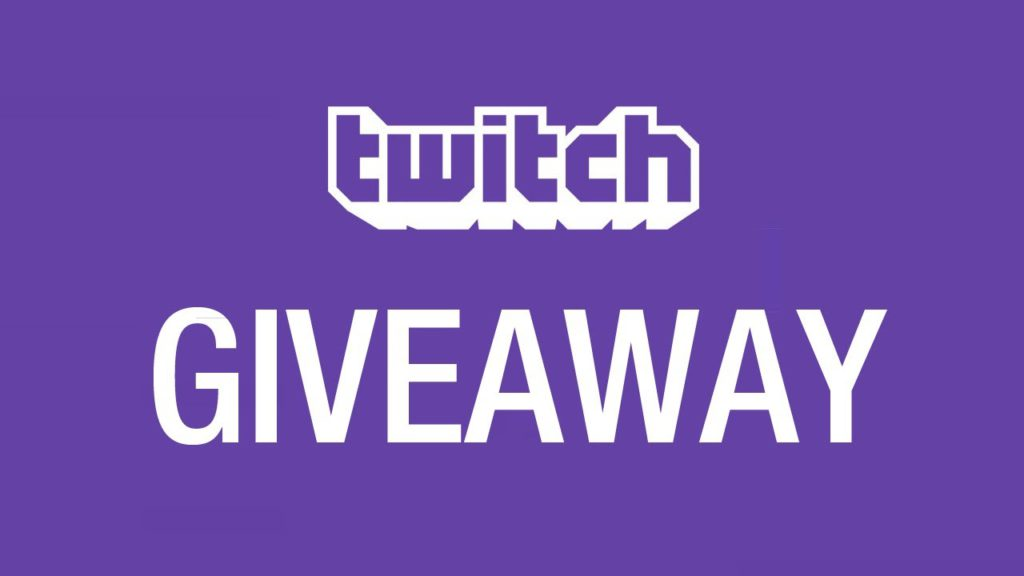 Twitch Never Doing Giveaways
