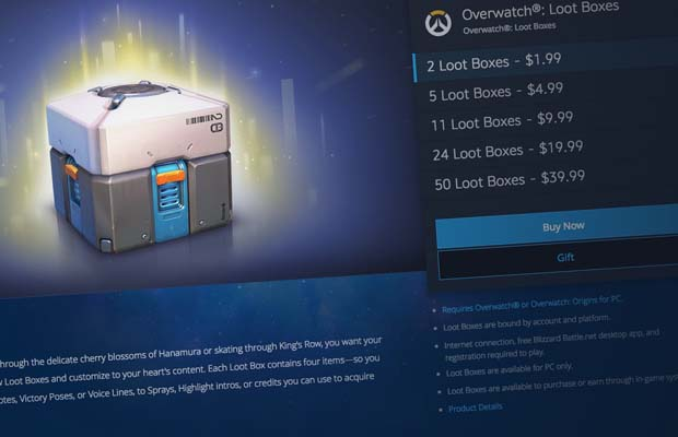 New Bill Would Study If Loot Boxes Constitute Gambling In